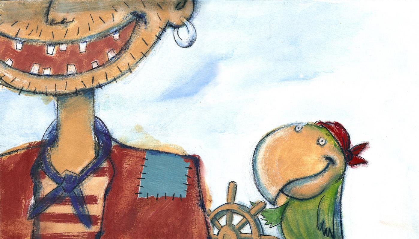 el pirata pata de lata